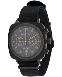 Briston 'Clubmaster' Armbanduhr - Schwarz