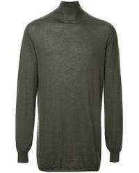 Rick Owens - Sweatshirt aus Kaschmir - Lyst