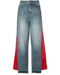 Haculla - Hybrid Patchwork Wide Leg Jeans - Lyst