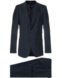 Dolce & Gabbana Traje formal abotonado - Azul
