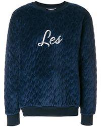 Les Benjamins - Slogan Sweater - Lyst