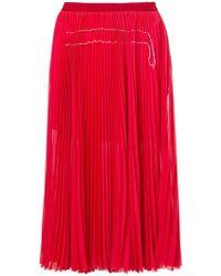 Aviu | Pleated Mid-lenght Skirt | Lyst