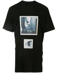 Julius プリント Tシャツ - ブラック