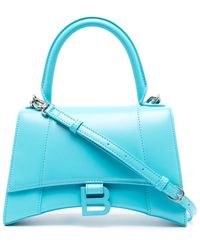 Balenciaga アワーグラス ハンドバッグ S - ブルー