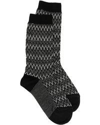 Missoni ロゴ 靴下 - ブラック