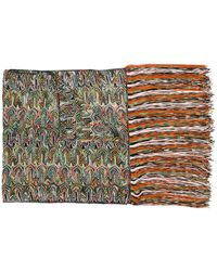 Missoni Fringed Scarf - Green