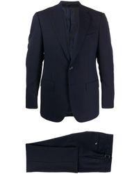 Dell'Oglio ツーピース スーツ - ブルー