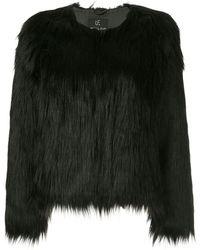 Unreal Fur ファーリー ジャケット - ブラック