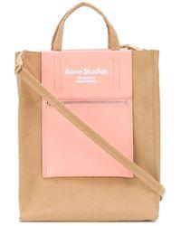 Acne Studios Сумка-тоут Среднего Размера - Розовый