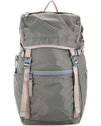 AS2OV 210d Nylon Twill Backpack - Gray