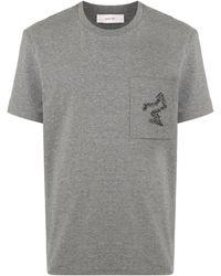 Cerruti 1881 Crew Neck Patch Pocket T-shirt - Gray