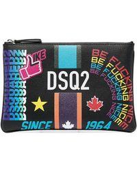 DSquared² Клатч С Логотипом - Многоцветный