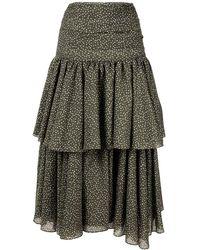 Acler Suki Skirt - Multicolour