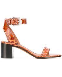 Givenchy - Sandalen Met Studs - Lyst