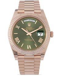 Rolex Наручные Часы Day-date Pre-owned 40 Мм 2020-го Года - Многоцветный