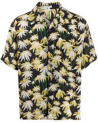 Loewe Рубашка С Принтом - Черный