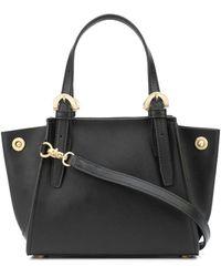 Zac Zac Posen Alice Mini Leather Tote Bag - Black