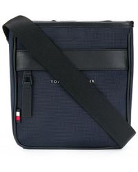 Tommy Hilfiger Essential メッセンジャーバッグ - ブルー