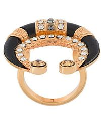 Ca&Lou - Crystal Embellished Ring - Lyst