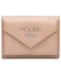 Prada - 三つ折り財布 - Lyst
