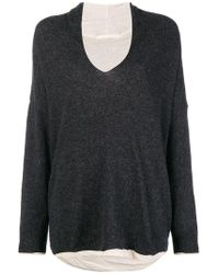 Elsa Esturgie Vic Sweater - Gray