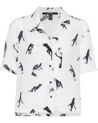 Ksubi - Hand Print Silk Shirt - Lyst