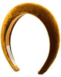 Jennifer Behr 'Thada' Stirnband - Gelb
