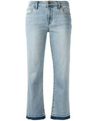 flared cropped jeans - Pink & Purple J Brand yx56OoM3a8