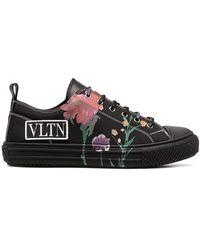 Valentino Garavani - Flowersity Vltn Low-top Sneakers - Lyst