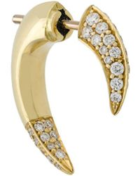 Shaun Leane 18 Kt Geelgouden Talon Diamanten Oorbel - Metallic