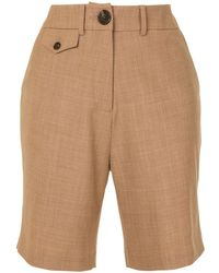 Anna Quan Patsy Tailored Shorts - Brown