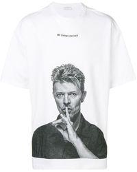 ih nom uh nit T-shirt Bowie Silence - Blanc