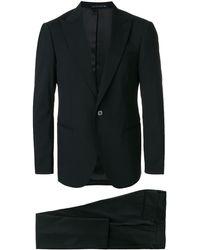 Bagnoli Sartoria Napoli ツーピース スーツ - ブラック