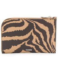Ganni 二つ折り財布 - マルチカラー