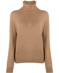 Saint Laurent Turtleneck Sweater - Multicolor