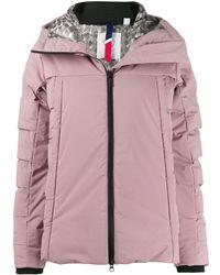 Rossignol フーデッド パデッドジャケット - ピンク