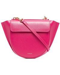 Wandler Закругленная Сумка-тоут - Розовый