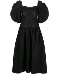 Rejina Pyo Louisa オーガニックコットン ドレス - ブラック
