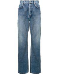 Balenciaga Straight-leg Jeans - Blue