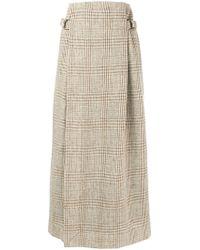 Vivienne Westwood Anglomania - Plaid Paperbag Waist Skirt - Lyst