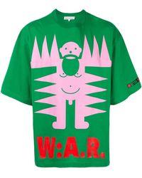 Walter Van Beirendonck Logo Print T-shirt - Green