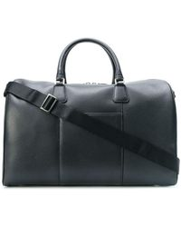 Canali - Pebbled Texture Holdall - Lyst