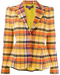 Ralph Lauren Collection - チェック テーラードジャケット - Lyst