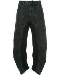 Stella McCartney - High-waist Ruched Jeans - Lyst