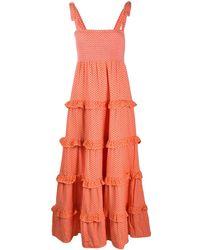 Cecilie Copenhagen Mina Maxi Dress - Orange