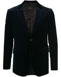 Loveless - Textured Fitted Suit Jacket - Lyst