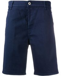 Dondup Gaubert Stretch Fit Chino Shorts - Blue