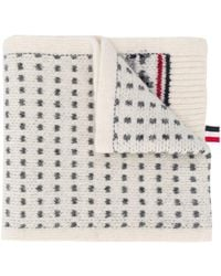 Thom Browne Fair Isle Wool Scarf - Multicolour