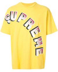 Supreme - グラデーション ロゴ Tシャツ - Lyst