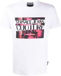 Versace Jeans - ロゴ Tシャツ - Lyst